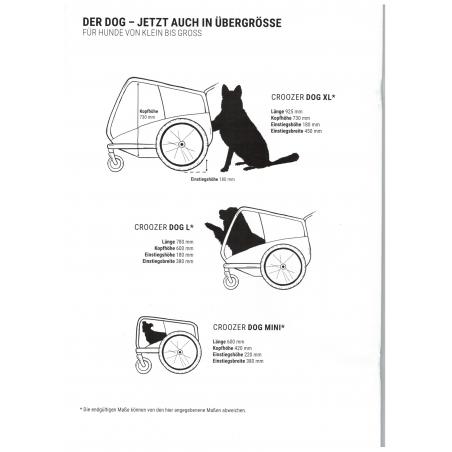 Croozer Dog JOKKE Hundeanhänger