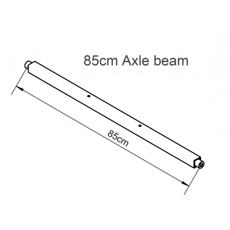 Carry Freedom The Y breite Achse-Wide Axle Beam