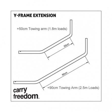 Carry Freedom The Y Deichsel +0,9 m