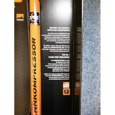 Standpumpe SKS Rennkompressor Multi-Valve, orange DV/AV/SV
