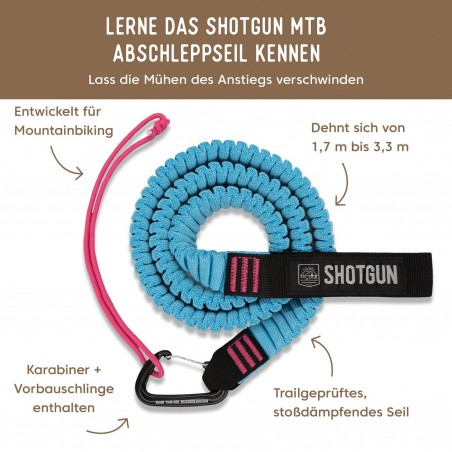 Shotgun MTB Tow Rope / Abschleppseil