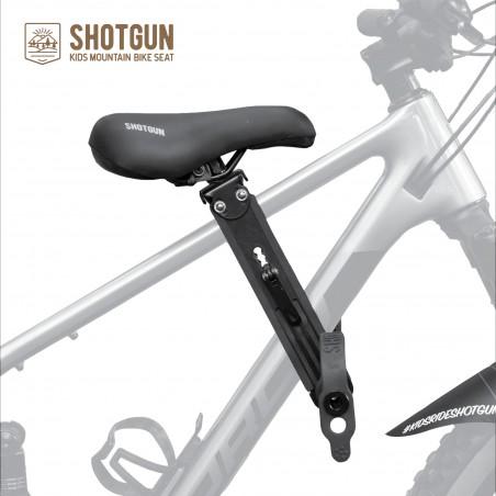 Shotgun Kinder MTB-Sitz Front Combo inkl. Lenkergriffe und Schutzblech