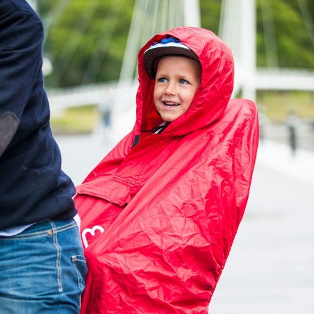 Hamax Kindersitz Regenponcho Kinder