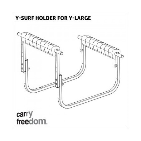Carry Freedom Surfaufsatz