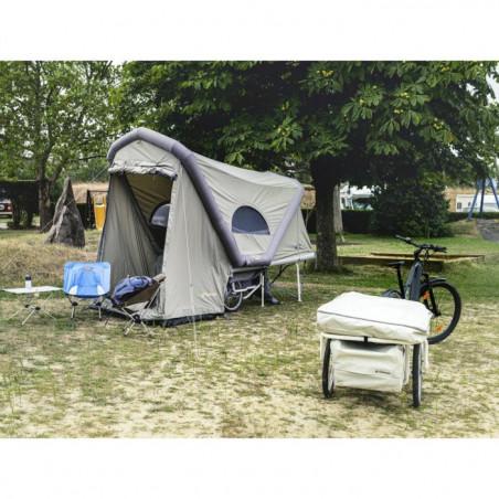 Gentle Tent - B TURTLE Micro-Wohnwagen / Fahrradanhänger Zelt