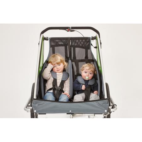 Kindercar Zwillingscar Kinderanhänger