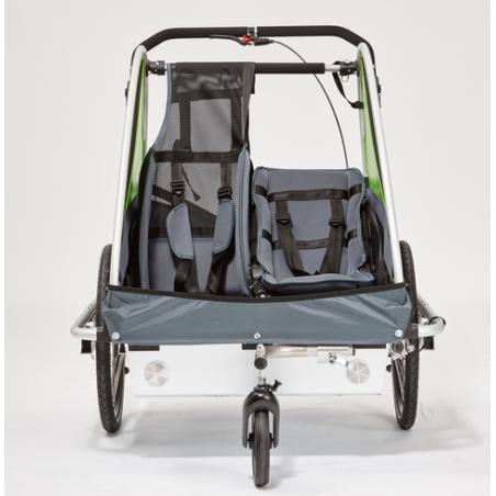 Kindercar Zwillingscar all inkl. Kinderanhänger